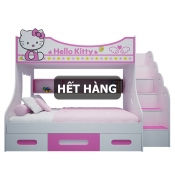 Giường Tầng Trẻ Em Hello Kitty