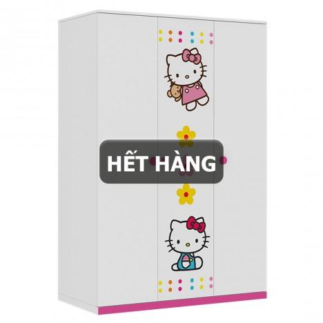 Tủ Quần Áo Trẻ Em Hello Kitty (1m2)