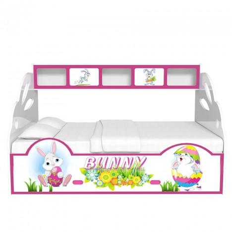 Giường Tầng Lùn Thỏ Bunny