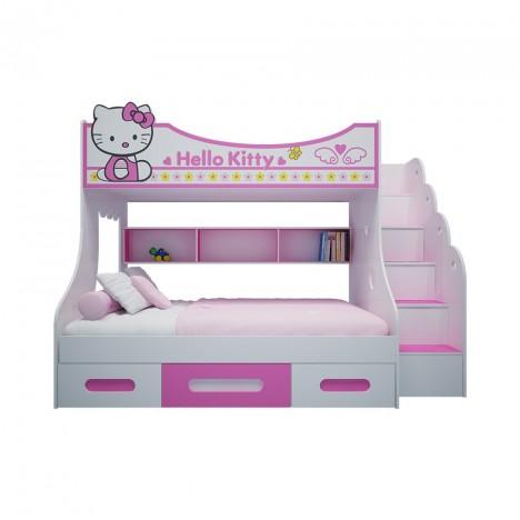 Giường Tầng Trẻ Em Hello Kitty