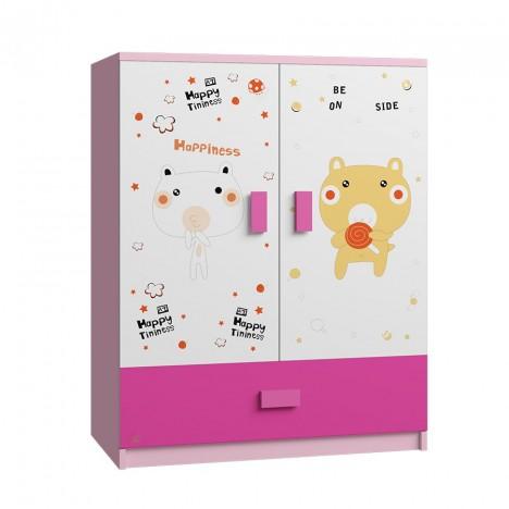 Tủ Quần Áo Cho Bé Happiness (80x50x100cm)