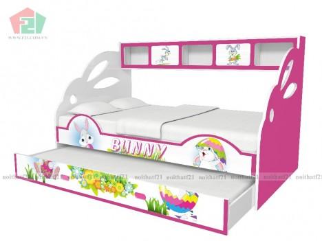 Giường tầng lùn Bunny