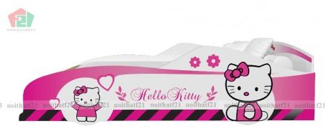 Giường Đơn Trẻ Em Ô tô số 9 in Hello Kitty