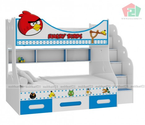 Giường Tầng Trẻ Em Angry Bird