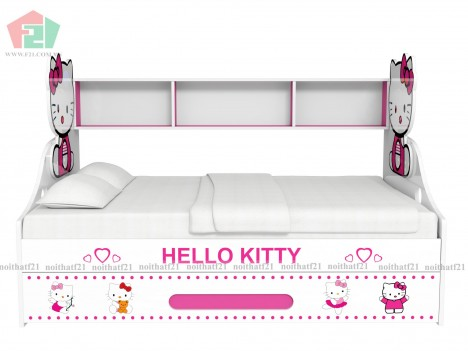 Giường Tầng Lùn Hello Kitty