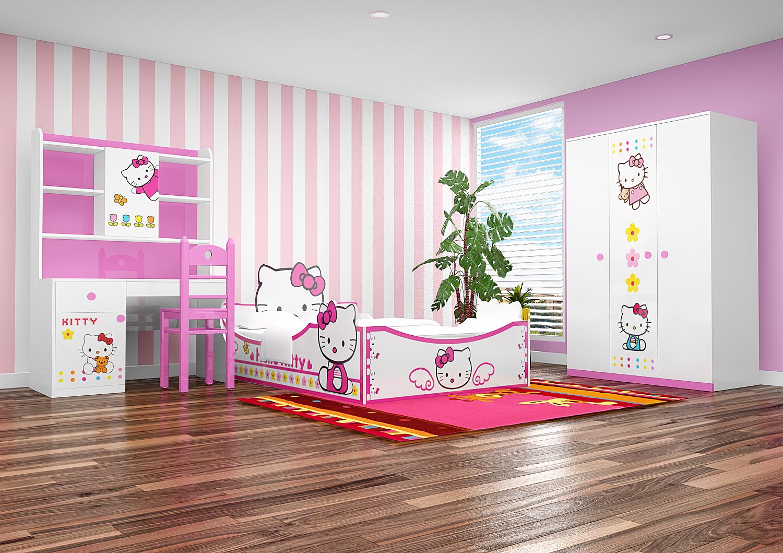Bộ Phòng Ngủ Hello Kity